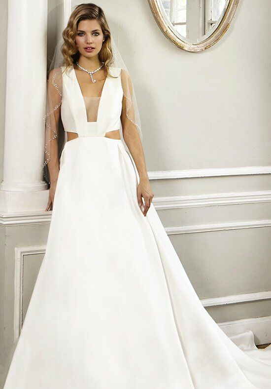 Jovani Bridal JB23661 A-Line Wedding Dress