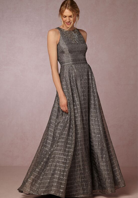 BHLDN (Mother of the Bride) Jeanne Dress Silver Mother Of The Bride Dress