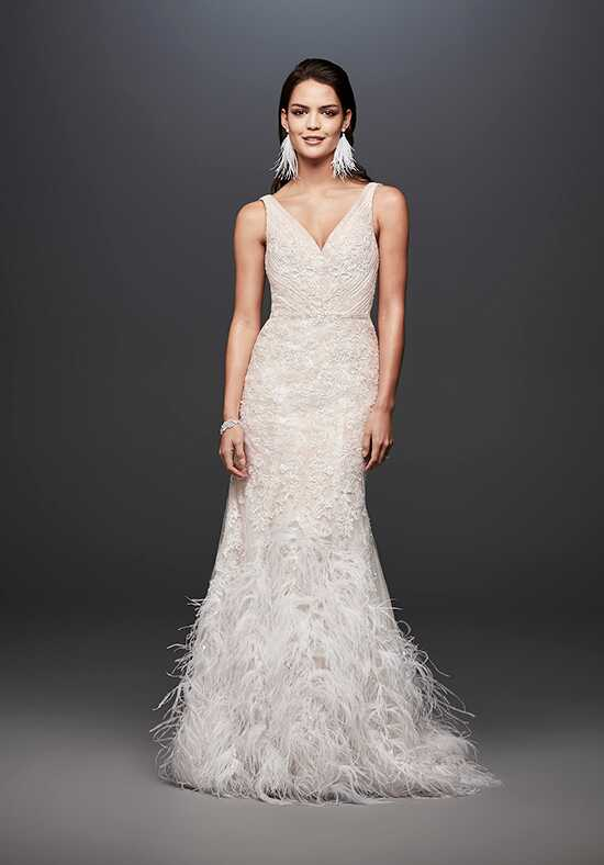 David's Bridal Galina Signature SWG800 Mermaid Wedding Dress