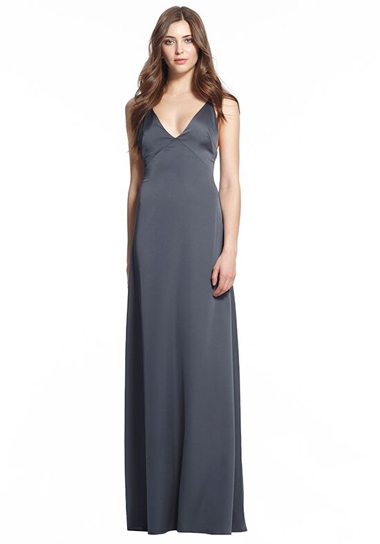 Monique Lhuillier Bridesmaids 450495 V-Neck Bridesmaid Dress