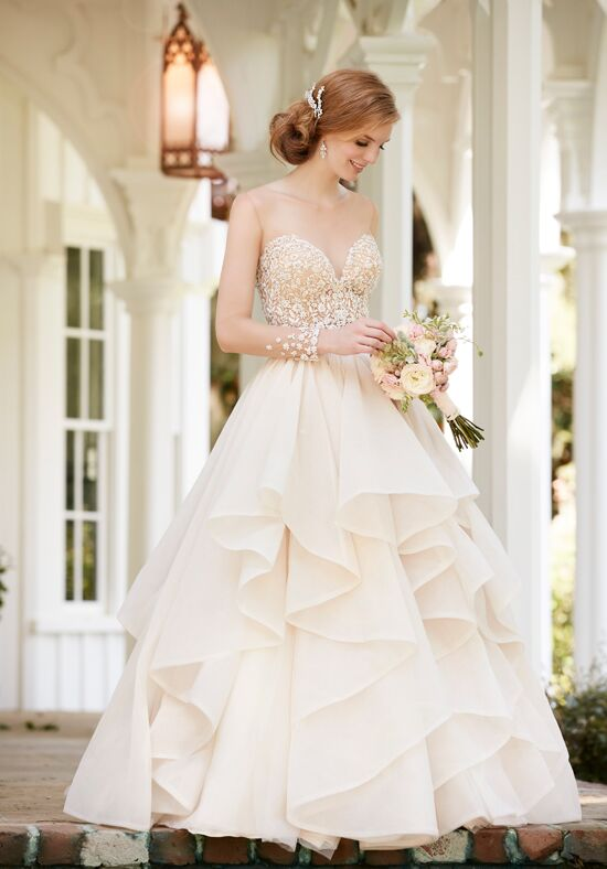 Martina Liana Belle+Stevie Ball Gown Wedding Dress