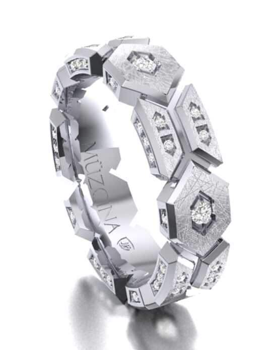 MÜZCINA by JJBückar BX26-H-100-D-OC-EC-PLT-SX-65 Platinum Wedding Ring