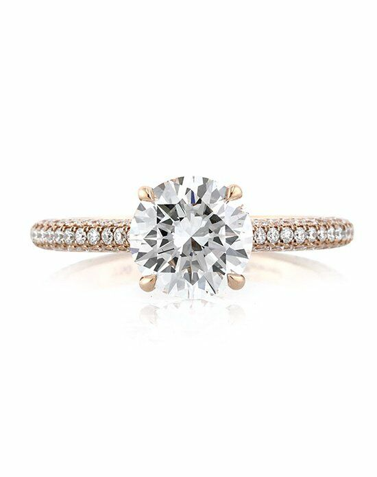 Mark Broumand Elegant Cut Engagement Ring