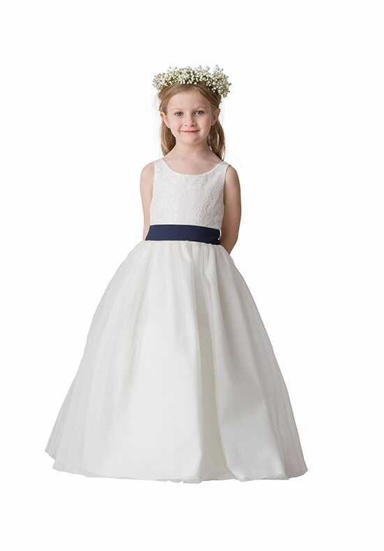 Bari Jay Flower Girls F5016 Blue Flower Girl Dress