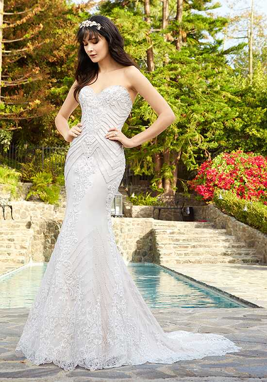 Val Stefani Lennox Mermaid Wedding Dress
