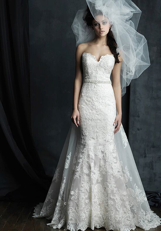 Allure Couture C387 Sheath Wedding Dress
