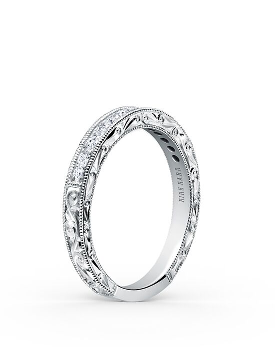 Kirk Kara Stella K160E-B White Gold Wedding Ring