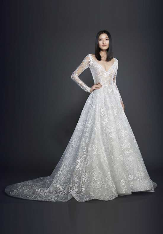 Lazaro 3717 Ball Gown Wedding Dress