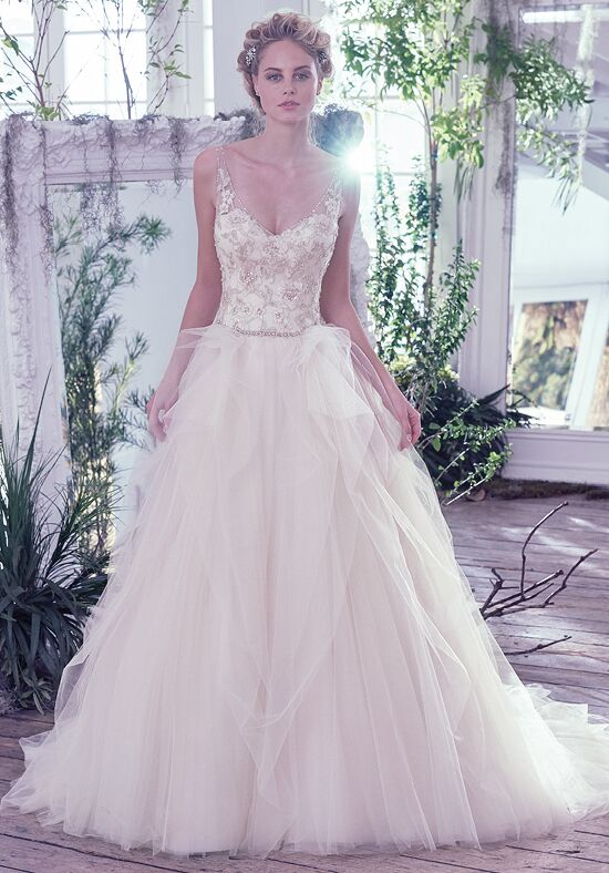 Maggie Sottero Carlotta Ball Gown Wedding Dress
