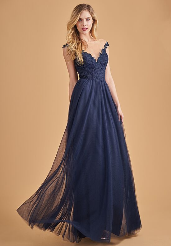 Belsoie L204065 Illusion Bridesmaid Dress