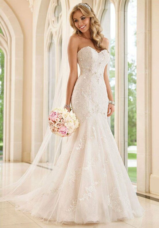 Stella York 6051 Mermaid Wedding Dress