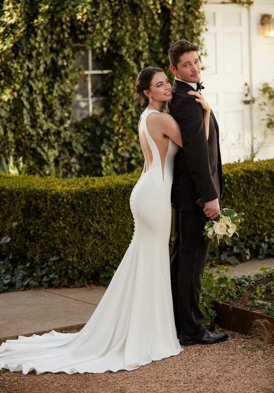 Martina Liana 932 Sheath Wedding Dress