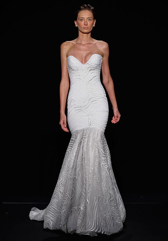 Mark zunino for kleinfeld 152 wedding dress the knot for How do you preserve a wedding dress