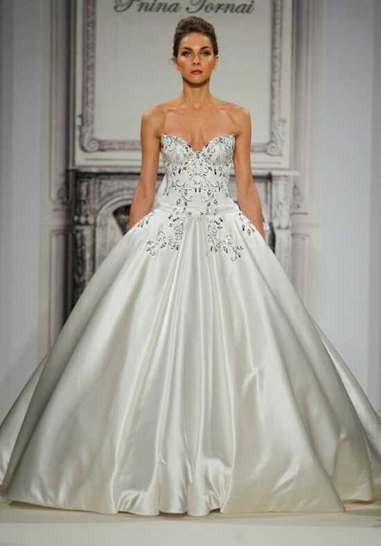 Pnina Tornai for Kleinfeld 4273 Ball Gown Wedding Dress