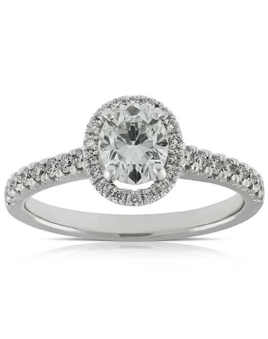 Ben Bridge Jeweler Classic Round, Oval Cut Engagement Ring