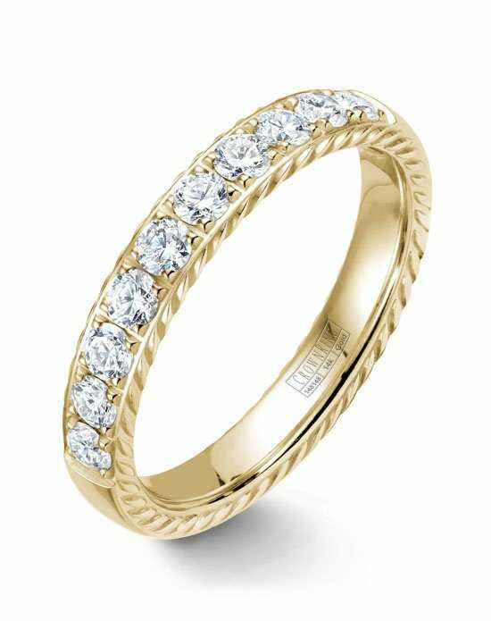 CrownRing WB-015RD4Y-M6 Gold Wedding Ring