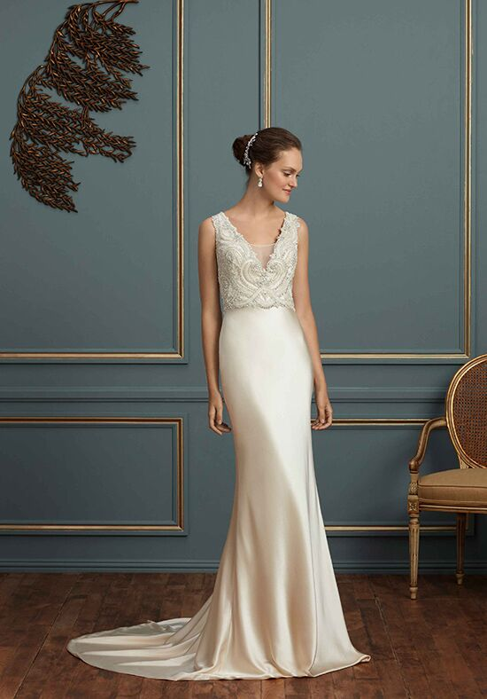 Amaré Couture by Crystal Richard C123 Charlotte Sheath Wedding Dress