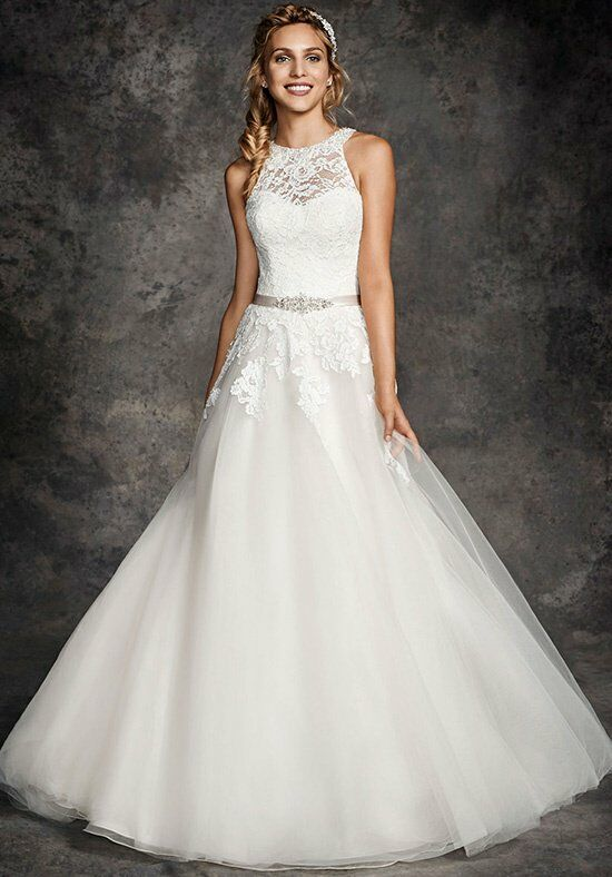 Ella Rosa BE269 A-Line Wedding Dress