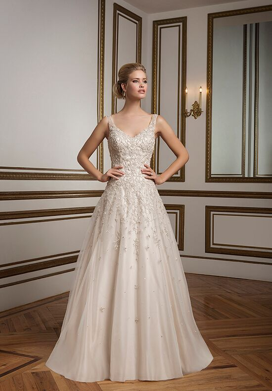 Justin Alexander 8813 A-Line Wedding Dress