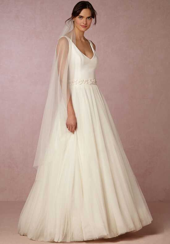 BHLDN Alba Top & Ahsan Skirt Ball Gown Wedding Dress