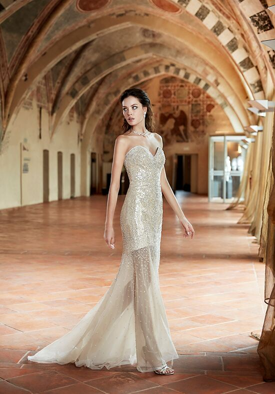Eddy K CT165 Sheath Wedding Dress