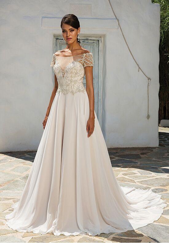 Justin Alexander Lace Wedding Dress