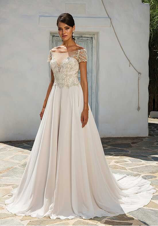Justin Alexander 8957 A-Line Wedding Dress