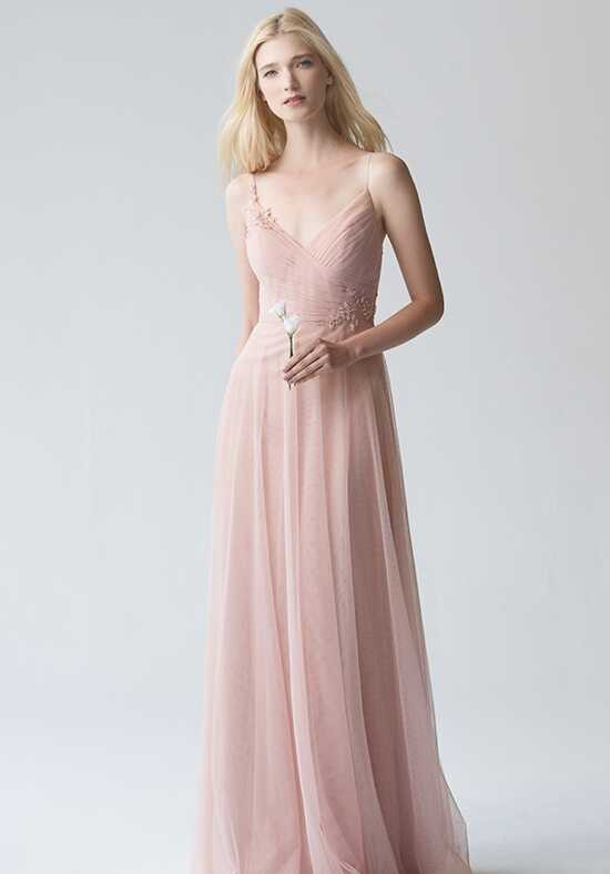 Jenny Yoo Collection (Maids) Brielle #1756 V-Neck Bridesmaid Dress