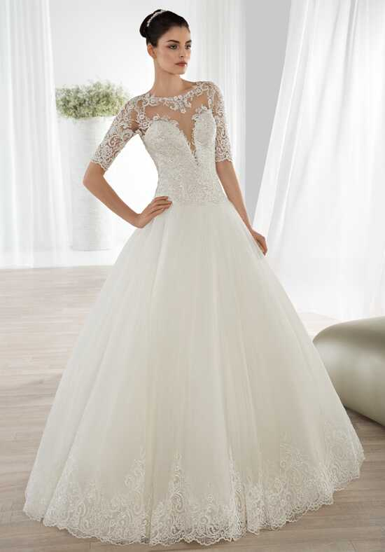 Demetrios 644 Ball Gown Wedding Dress