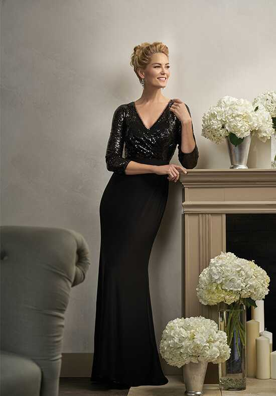 Jade Couture K198004 Black Mother Of The Bride Dress