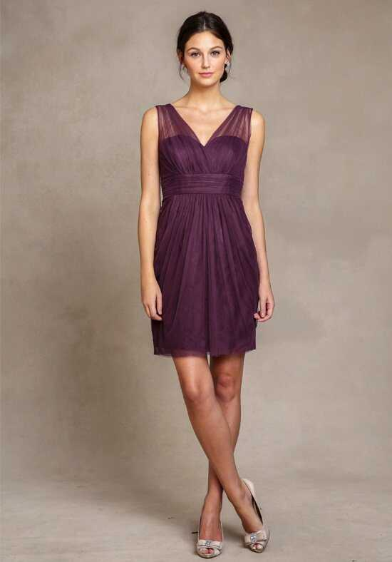Jenny Yoo Collection (Maids) Adelle 1555 V-Neck Bridesmaid Dress