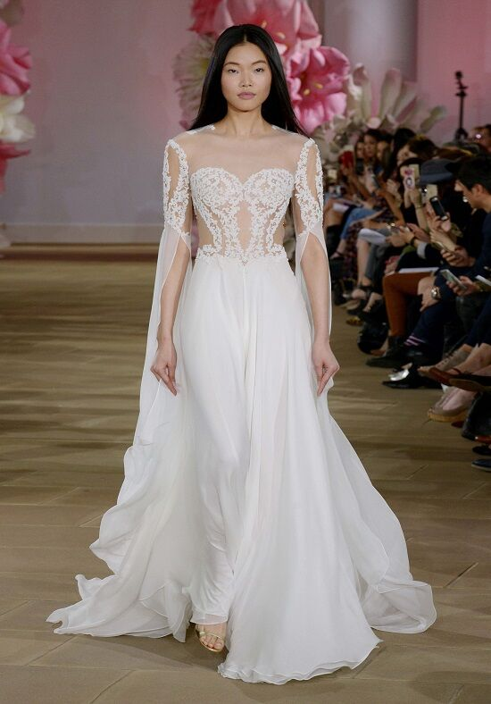 Ines Di Santo Fresh Sheath Wedding Dress