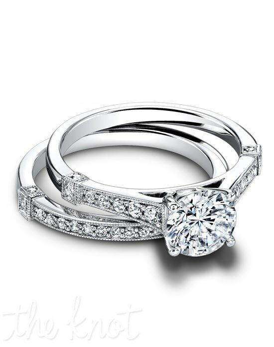 Jeff Cooper RP-1600 & RP-1600/B Palladium, Platinum, White Gold Wedding Ring