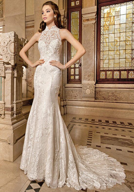 Demetrios 1487 Mermaid Wedding Dress
