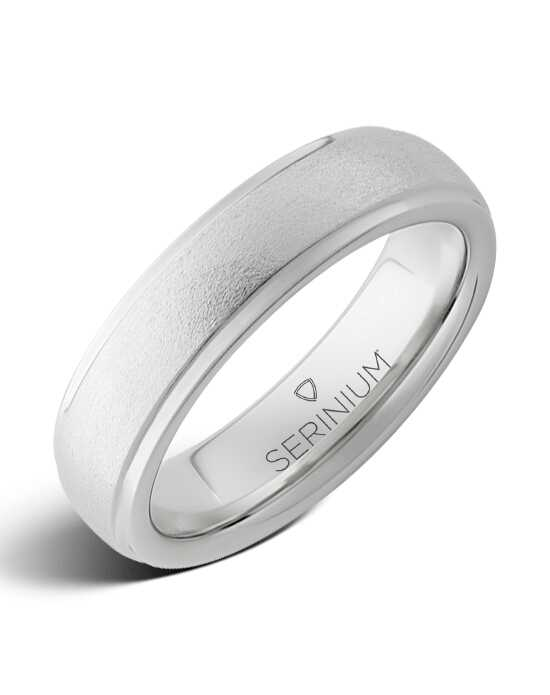 Serinium® Collection Sierra — Stone Finish Serinium® Ring-RMSA001878 Serinium® Wedding Ring