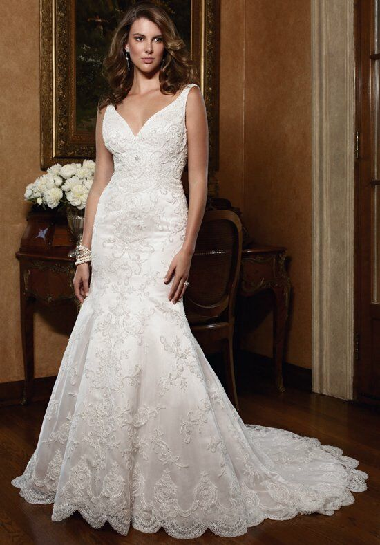 Casablanca Bridal 2030 Mermaid Wedding Dress