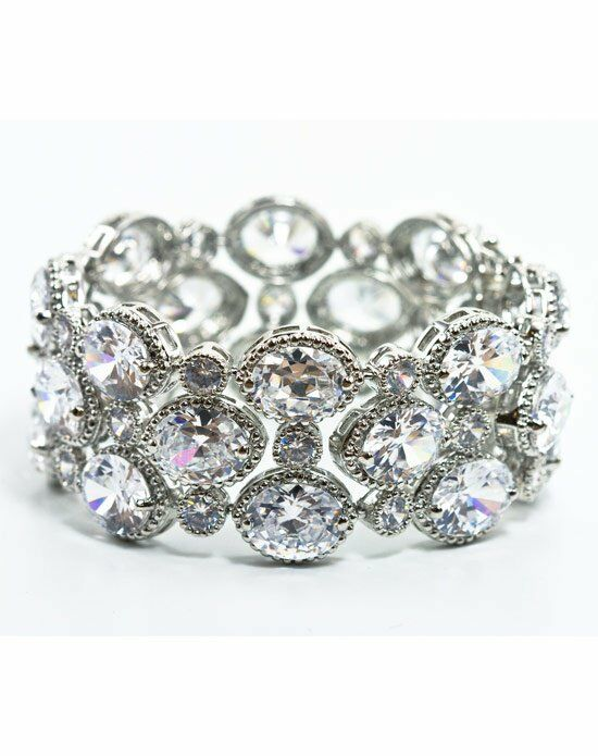 Anna Bellagio Ravinia Art Deco Bracelet Wedding Bracelet photo