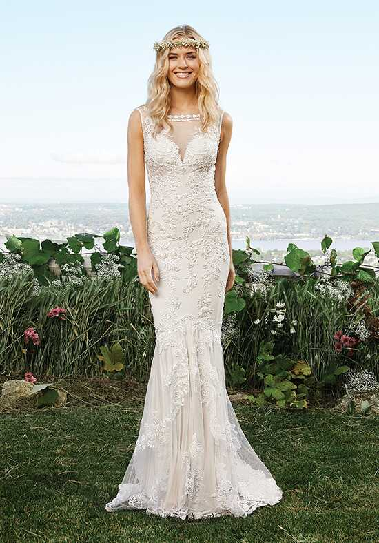 Lillian West 6421 Mermaid Wedding Dress