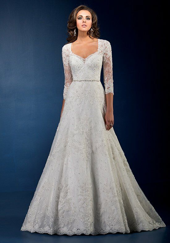 Jasmine Couture T162066 A-Line Wedding Dress