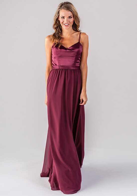 Kennedy Blue Abigail V-Neck Bridesmaid Dress