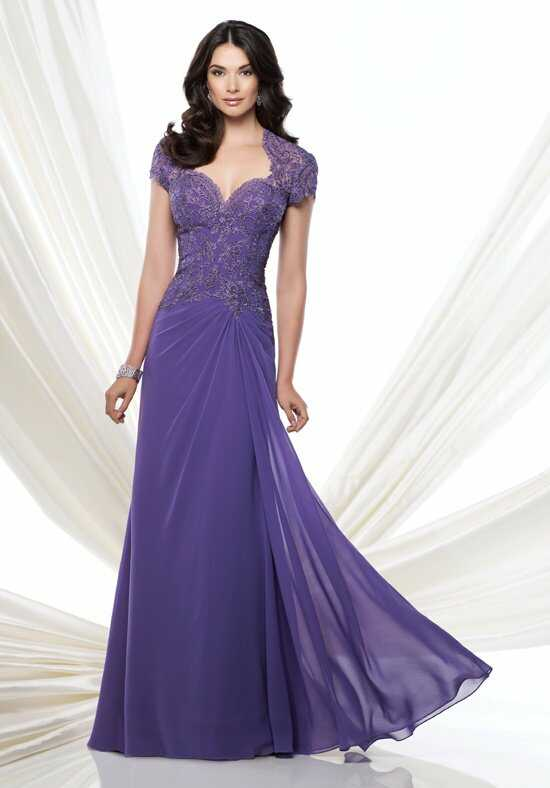 Montage by Mon Cheri 115974 Purple Mother Of The Bride Dress