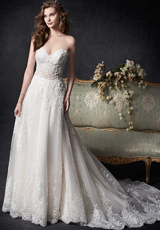 Kenneth Winston 1757 A-Line Wedding Dress
