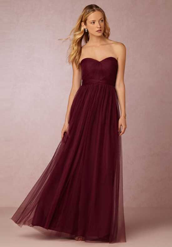 BHLDN (Bridesmaids) Annabelle_Red Bridesmaid Dress