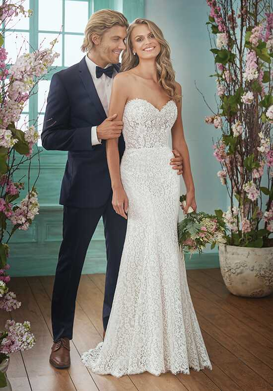 Jasmine Collection F201010 Mermaid Wedding Dress