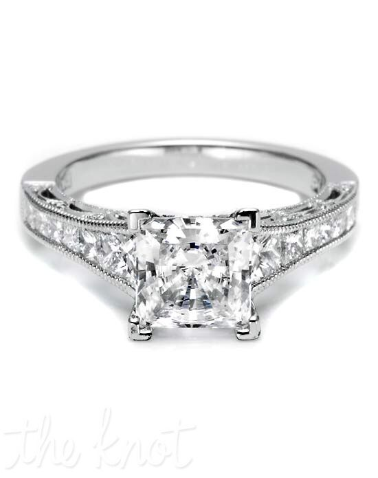 Tacori HT 2510 PR 5.5 1/2X Platinum Wedding Ring