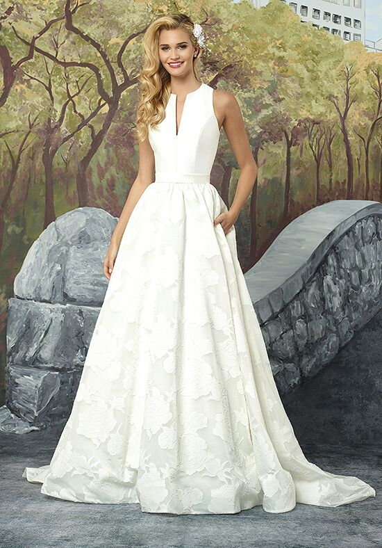 Justin Alexander 8924 Ball Gown Wedding Dress