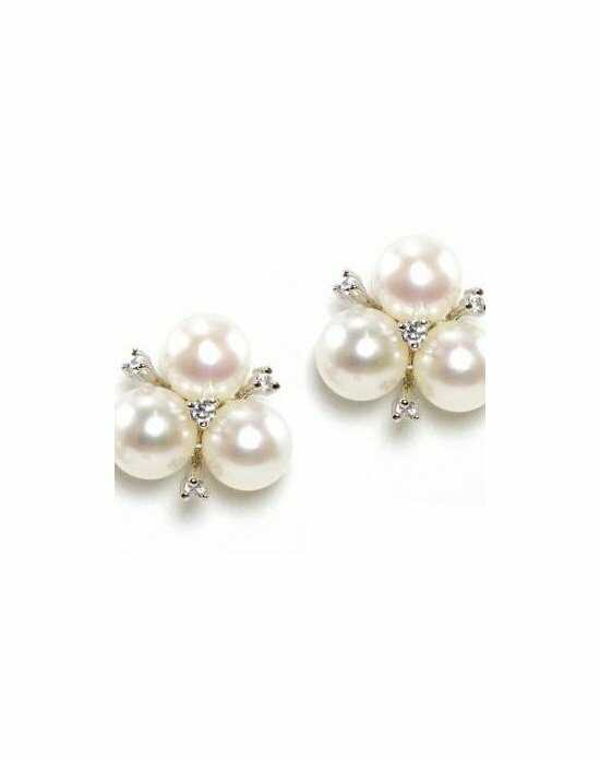 Anna Bellagio EMALINE PEARL AND CRYSTAL EARRINGS Wedding Earring photo