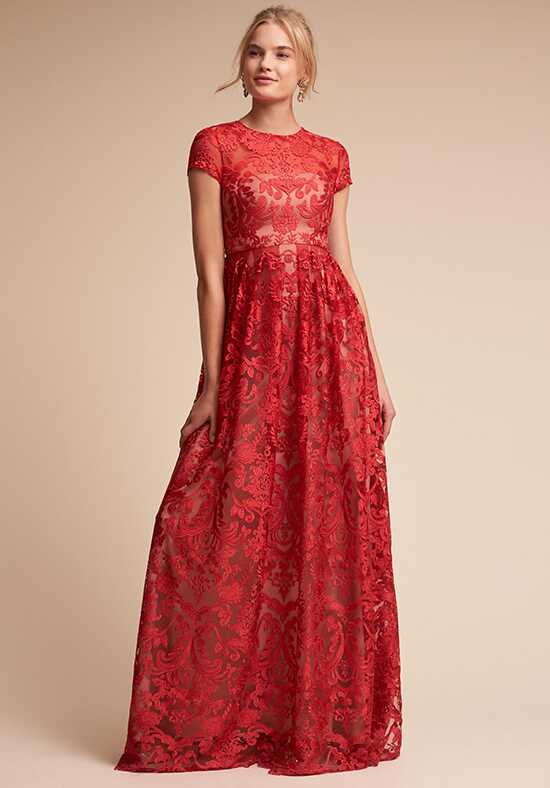 BHLDN (Mother of the Bride) Lilo Red Mother Of The Bride Dress