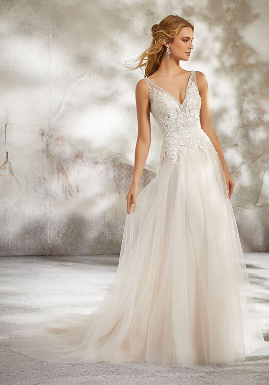 Morilee by Madeline Gardner 8277 / Luana A-Line Wedding Dress