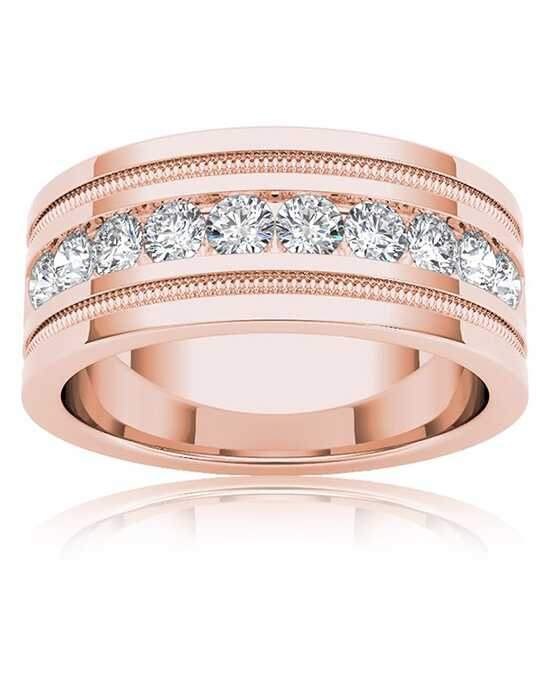 Rogers & Hollands® 6758396 Gold, Rose Gold Wedding Ring